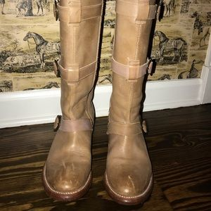 Ariat zip up boots size 8
